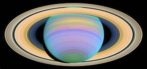 wordlessTech | Saturn from Hubble Space Telescope