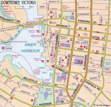 map  victoria bc vancouver island map victoria bc