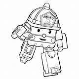 Robocar Poli Coloring Pages Books Printable sketch template