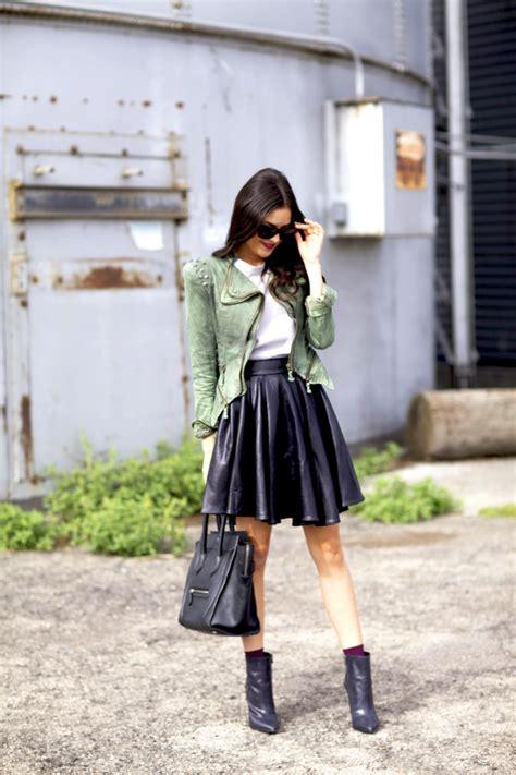 Cute Casual Fall Outfit with Skirt u2013 Latest Street Fashion Trend Idea Blog For Teenage - Bored ...
