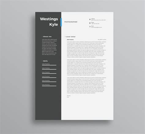Free Resume And by 75 Best Free Resume Templates Of 2019