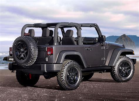 jeep wrangler beach edition 2014 jeep wrangler willys wheeler edition la auto show