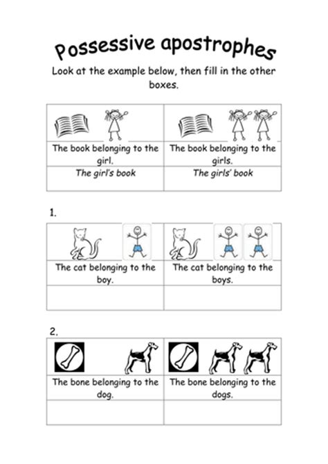 Possessive Apostrophes By Groovechik  Teaching Resources Tes