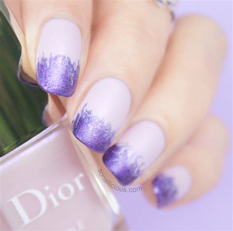 dior perle trianon review cloudy ombre nails