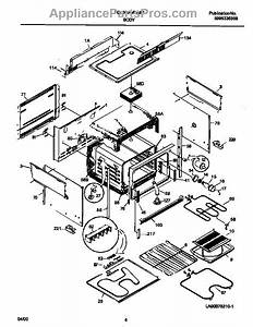 Parts For Frigidaire Fed300wcwi  Body Parts