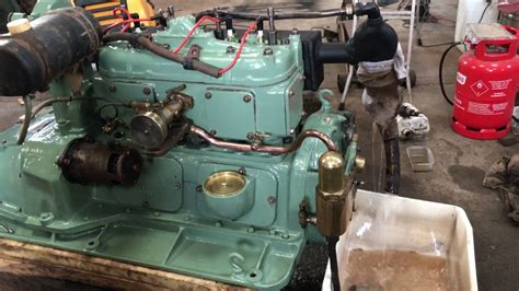 rebuilt thornycroft ra4 marine engine