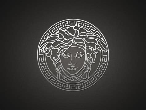Versace logo HD Wallpaper