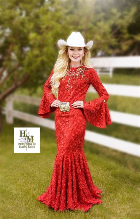 beautiful fashion  rodeo queen dress custom