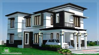contemporary home plans 2500 sq 4 bedroom modern home design kerala home design and floor plans