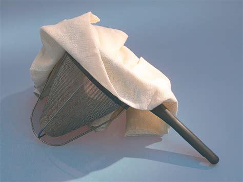 étamine passe bouillon mousseline toile de coton