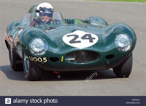 The Jaguar D-type Is A Sports Racing Car That Was Produced