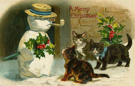 Vintage Victorian Christmas Cards