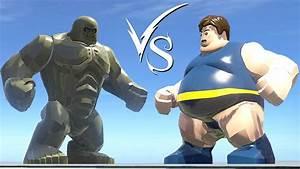 Abomination Vs Blob - LEGO Marvel Super Heroes - YouTube