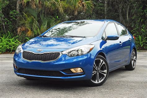 kia forte sedan  fwd sport review test drive
