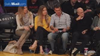 antonio banderas video game antonio banderas snuggles with nicole kimpel at lakers