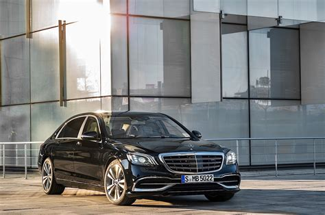 2018 Mercedesbenz Sclass W222 Facelift Brings Back The