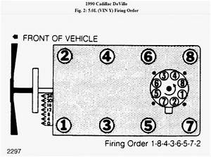 1990 Cadillac Deville Engine Firing Order  I Need To See A