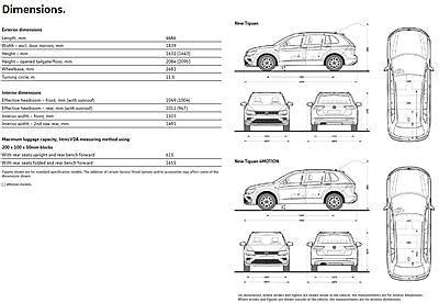 2017 Volkswagen Tiguan Dimensions 2017 tiguan interior dimensions www microfinanceindia org