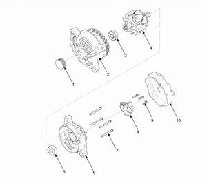 Hyundai Santa Fe  Alternator  Components And Components