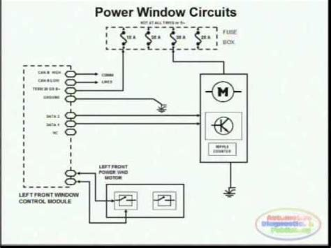 toyota power windows circuit 3 digle windows circuit