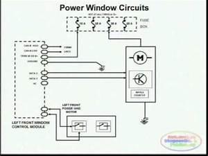Power Windows Circuit