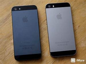 The difference between the Space Gray iPhone 5s and the ...
