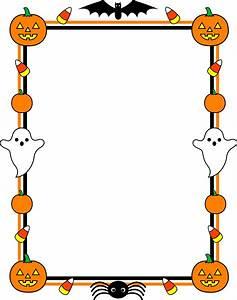 Cute Halloween Border Frame - Free Clip Art