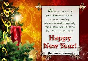 Happy New Year Wishes and Greetings - Easyday
