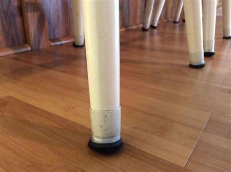 furniture floor protectors clear sleeve sample pack