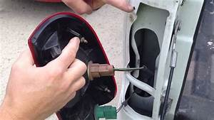 Replacing The Brake  Turn Signal Light Bulb In A 2007 Ford