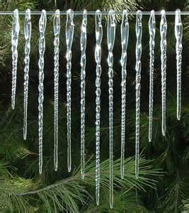 icicles of hand blown glass 13 christmas tree by prochaskagallery