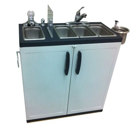 portable sinks for sale portable sink depot dipping well portable sink 4 compartment