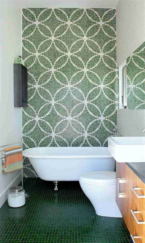 mosaique verte salle de bain carrelage salle de bains 34 id 233 es avec la mosa 239 que