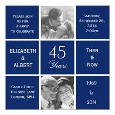 45th wedding anniversary gift ideas for parents joseph 39 s and thelma 39 s 45th wedding anniversary on blue cakes wedding anniversary