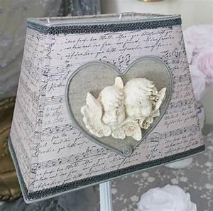 Création Abat Jour : abat jour rectangle anges et notes de musique perle de lumi res cr ation d 39 abat jour sur ~ Melissatoandfro.com Idées de Décoration