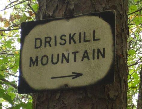 louisiana mountain driskill point signs follow driscoll
