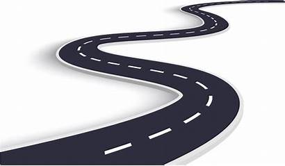 Road Winding Curved Transparent Curvy Start Curve