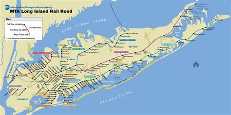 Printer For Island Manhattan Nassau Suffolk Lirr Map Lirr Map Island New York Usa