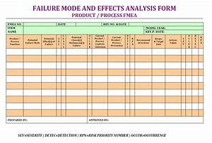 Failure Mode Effects Analysis Form Format | Samples | Word ...