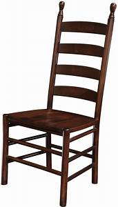 Colonist Ladder Back Dining Chair Countryside Amish
