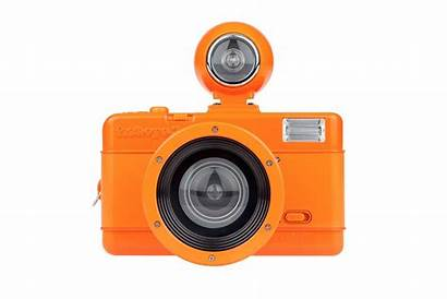 Orange Lomography Camera Vibrant Fisheye Cameras Arrivals
