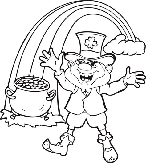 leprechaun coloring pages best coloring pages for