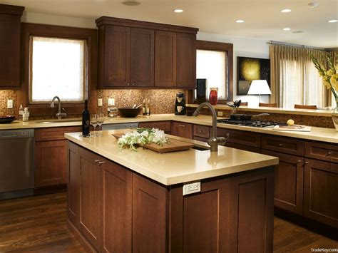 dark brown kitchen cabinets elegant white shaker kitchen cabinets with dark wood
