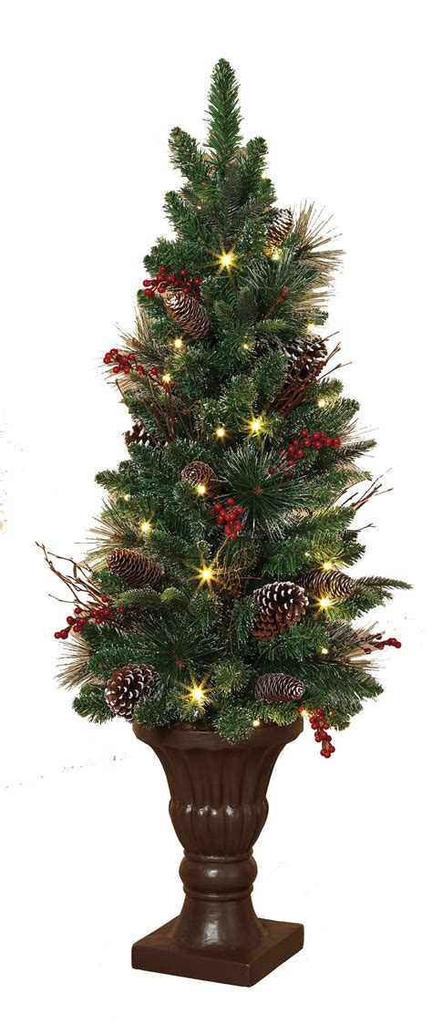 Battery Operated Tree Lights by Artificial Trees 4 Frosted Battery Operated