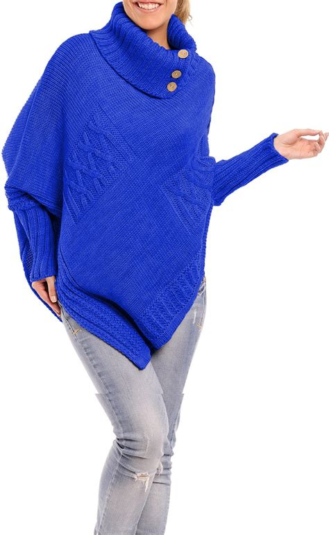 s cape sweater empire 39 s warm knit poncho sweater batwing