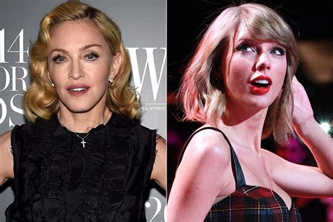 Madonna Compliments Taylor Swift, Taylor Has No Chill About It