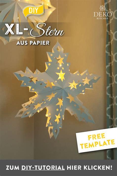 Fensterdeko Weihnachten Falten by Pin Deko Kitchen Diy Tutorials Auf Diy Wundersch 246 Ne