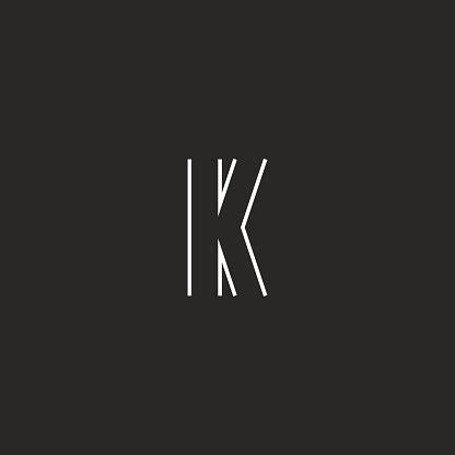 initial letter  logo creative emblem mockup monogram symbol deco design element stock