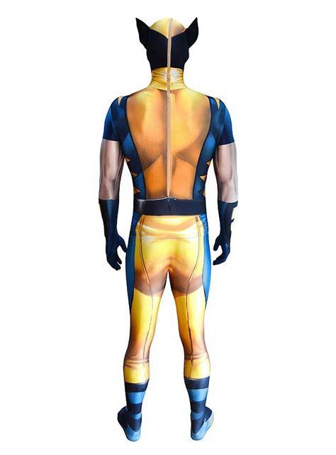 digital morphsuit wolverine full body costume maskworldcom