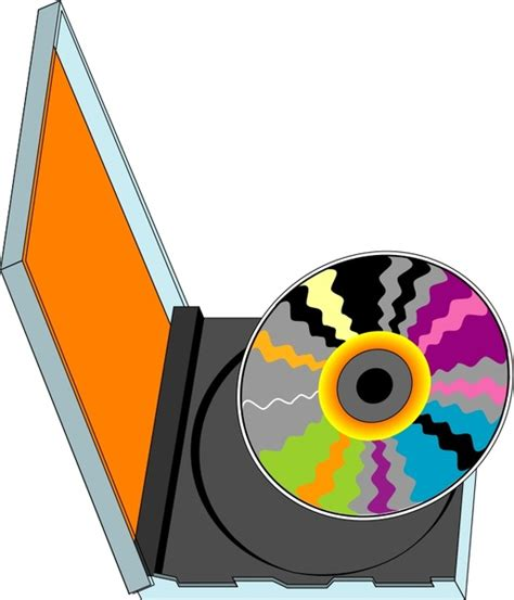 compact disk   vector  open office drawing svg